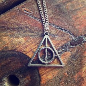 Jewelry - Harry Potter Deathly Hollows necklace.